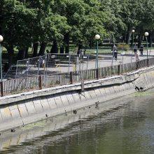 Klaipėda už 5 mln. eurų rekonstruos Danės krantinę, įrengs šimtmečio skverą