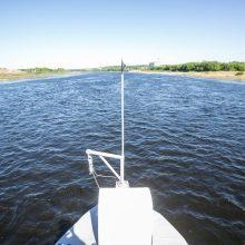 Reikšmė: VVKD Nemuno vagos tvarkymo projektą vadina esminiu lūžiu bandant atgaivinti laivybą.