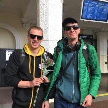 Lietuvos sportininkai trofėjų neiškovojo, bet vilčių neprarado