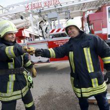Šventinę dieną Kauno ugniagesiai fiksuoja malonią staigmeną – jau dešimt valandų be ugnies