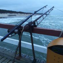 Nuo Palangos tilto vaikys žvejus?
