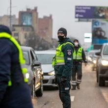 Ilgasis savaitgalis Kauno apskrities blokpostuose: per 4 tūkst. apgręžtų, įkliuvo girti ir beteisiai