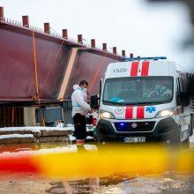 Tragedija tilto per Nerį statybvietėje: įvardijo galimą nelaimės priežastį