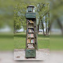 Preiloje atidaromas visą parą veiksiantis knygų namelis