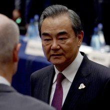 Kinų užsienio reikalų ministras: Honkongas visuomet liks Kinijos dalimi