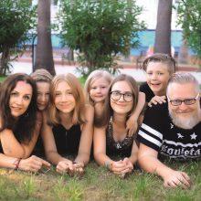 Penkių vaikų mama: motinystė augina mane