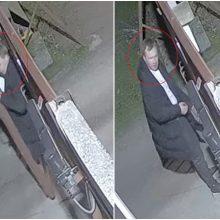Aleksote apvogtas krovininis automobilis (policija ieško šio asmens)