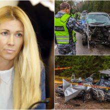 Slaugytojų žūties byla: kaltinamoji vairavo išsinuomotą opelį tądien pirmą kartą