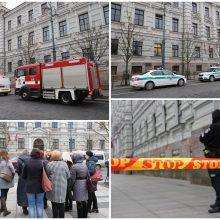 Vilniaus teismuose sprogmenų ir apnuodytų laiškų nerasta