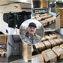 Neramina kontrabanda iš Baltarusijos: rūkydami tokias cigaretes palaikome A. Lukašenkos režimą