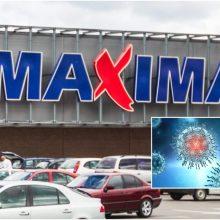 """COVID-19 nustatytas dar 12 """"Maximos"""" darbuotojų, daugėja pasveikusių"""
