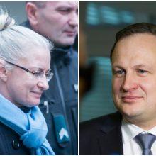 Prokuroras apie N. Venckienei panaikintus kaltinimus: jokių klaidų čia nematau