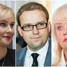 Panaikino kandidatų į Seimą V. Gapšio, R. Janutienės ir D. Štraupaitės neliečiamybę
