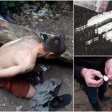 Policininkai nusiteikę rimtai: krečia jaunuolių kišenes, o jose neretai – narkotikai