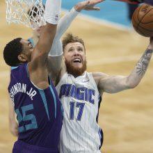NBA lygoje tęsiasi solidūs I. Brazdeikio pasirodymai: vėl gerino karjeros rekordus
