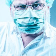 S. Čaplinskas paaiškino, kaip medicininės kaukės apsaugo nuo koronaviruso