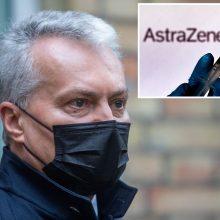 """G. Nausėda po """"AstraZeneca"""" žinios: iššūkių dėl vakcinų tiekimo bus dar ne vienas"""