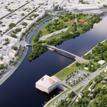 Jau galima pamatyti, kaip atrodys naujasis Kauno centras