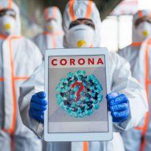 Virusologė apie koronavirusą: klausimų šiandien daugiau nei atsakymų