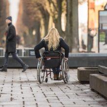 Kaunas nepamiršta žmonių, turinčių negalią