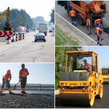 Valstybinių kelių priežiūra į vienos bendrovės rankas atiduodama be konkurso