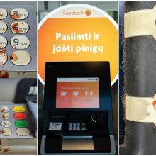 """Pasišlykštėjo kruvinu """"Swedbank"""" bankomatu: rimtas kriminalas ar nelaimingas atsitikimas?"""