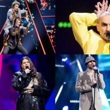 """Antroje """"Eurovizijos"""" atrankos laidoje – dar dešimt dalyvių: kas keliaus į pusfinalį?"""