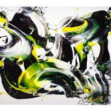 Tekstilininkės I. Urbonienės parodoje – spalvomis perteikta emocijų jūra