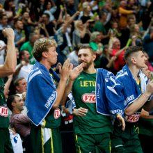 Burtai ištraukti: lietuvių pasaulio čempionato grupių etape laukia grėsmingi varžovai