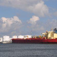 Lietuvą pasiekė pirmasis JAV naftos krovinys Baltarusijai