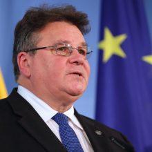 L. Linkevičius su kolegomis Briuselyje aptars klimato diplomatijos klausimus