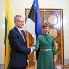 Šalies vadovai pasveikino Estiją 102-ųjų Nepriklausomybės metinių proga