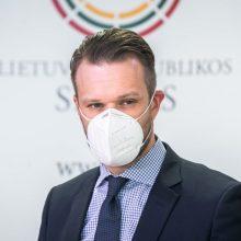 URM sveikina Rusijos pareigūnams įvestas sankcijas dėl A. Navalno