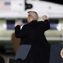 Žiniasklaida: D. Trumpas susitaikė su savo pralaimėjimu prezidento rinkimuose