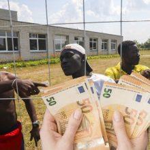 Migrantas siūlomais 300 eurų nesigundo: mano nauja šeima Lietuvoje, noriu gyventi čia