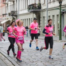 Sekmadienį Kauno senamiestį užplūs rožiniai bėgikai: numatomi eismo apribojimai