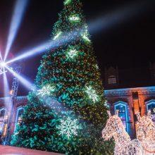 Eglutės įžiebimu Kauno rajonas pirmasis žengs į šviesų Kalėdų laukimo metą