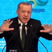 R. T. Erdoganas: Turkijos ateitis yra Europoje