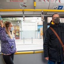 Viešojo transporto pakeitimai Kaune dėl įvesto karantino