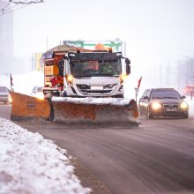 """""""Kauno švara"""": žiemos sezono metu dirbame pilnu pajėgumu"""