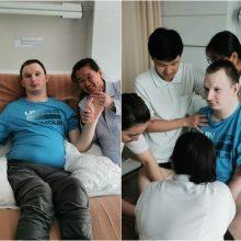 Tailando medikai sužalotam vyrui suteikė vilties: belieka ir toliau žvelgti į priekį