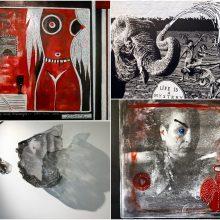 Nauja pradžia ieškoti grožio formų: trečioji Kauno tarptautinė grafikos bienalė