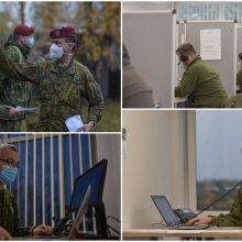 Pagalba NVSC: kariuomenė didina pajėgas