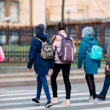Kauno pradinukai ir priešmokyklinukai grįžta į mokyklų suolus
