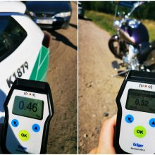 Per savaitę – tūkstančiai lakstūnų, dešimtys kelių gaidelių ir girtas motociklininkas