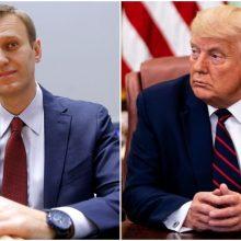 A. Navalnas apgailestauja, kad D. Trumpas nepasmerkė jo apnuodijimo