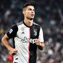 """C. Ronaldo ir """"Juventus"""" turėjo vytis varžovus, bet spėjo išsigelbėti"""