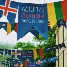 Vilniečiai vėl dėkos Islandijai ir naktį leis kultūros renginiuose