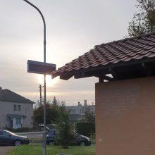 Pakaunės viešojo transporto stotelėse sumontuotos informacinės švieslentės