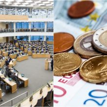 """Seimui pristatomi 2020 metų valstybės, """"Sodros"""" ir PSDF biudžetų projektai"""